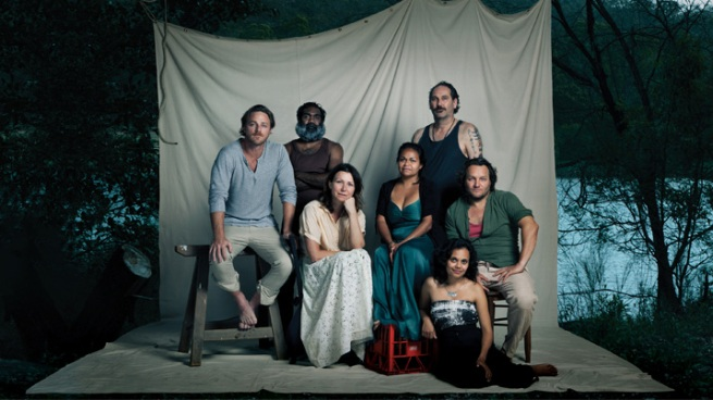 Some of the cast of The Secret River